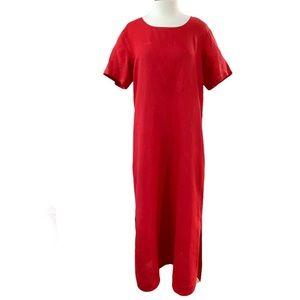 Russ Berens Long Linen Dress